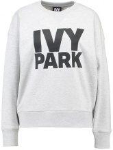 Ivy Park LOGO Felpa light grey marl/black