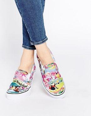 Vans - Disney Alice - Scarpe da ginnastica senza lacci