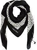 Calvin Klein Joyce 2 Scarf, Sciarpa Donna, Multicolore (Black/Dusted Ivory), Taglia Unica