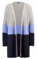 KIOMI Cardigan grey melange/ blue