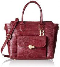 Bulaggi Saura Handbag - cartella Donna, Rot (Wein Rot), 25x13x29 cm (B x H T)