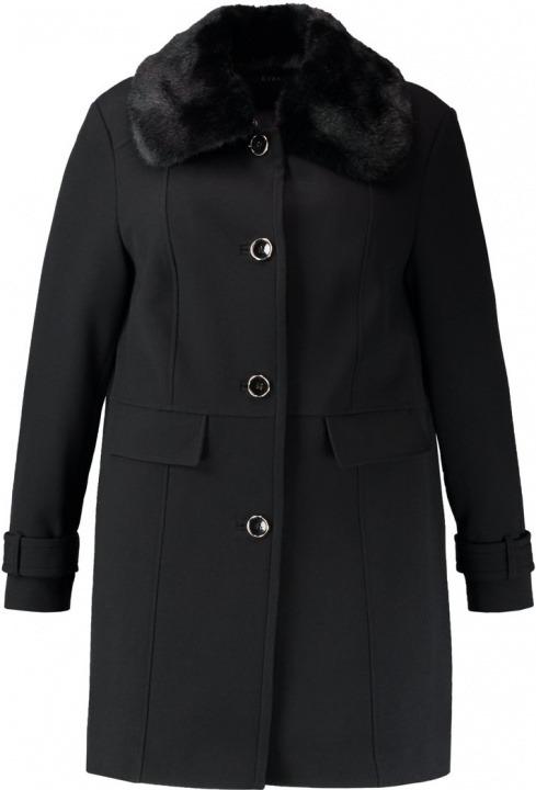 Cappotto Evans Coat Dolly Bantoa Corto Black w6PxE86q