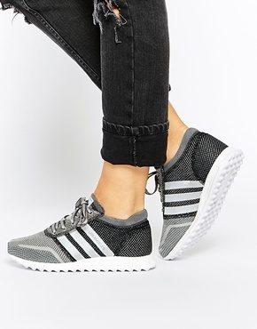adidas Originals - LOS Angeles - Scarpe da ginnastica grigio/argento