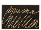 Lulu Guinness OLIVIA Pochette black/gold