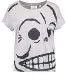 Cheap Monday HUGE SKULL  Tshirt con stampa grey melange