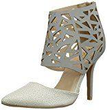 Qupid - Mixi-07, scarpe con tacco  da donna, grigio(Grau (Grey)), 36