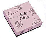 Jodie Rose Silver Donna  925  argento Rotonda   trasparente Cristallo FINENECKLACEBRACELETANKLET
