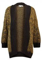 Selected Femme SFMALINE  Cardigan golden brown/black/dark navy