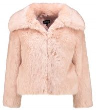 Topshop Petite CLAIRE LUX Giacca invernale nude