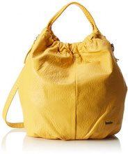 BoschaBoscha - Borsa a spalla Donna , giallo (Gelb (Gelb (yellow))), 18x43x42 cm (B x H x T)