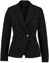 Dorothy Perkins BUTTON FITTED  Blazer black