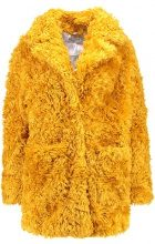 Glamorous Cappotto invernale mustard teddy