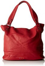 Little Marcel Id03 - Borse a spalla Donna, Rouge (Red), 17x31x38 cm (W x H L)