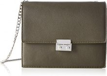 PIECES Pcjune Cross Body - Borse a tracolla Donna, Grün (Dark Olive), 9x17x21 cm (B x H T)