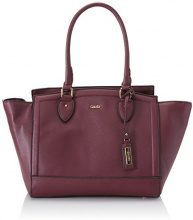 Gaudì East West Big-Linea Altea-cm.31 x 28 x 18, Borsa a Mano Donna, Viola (Purple), 31 x 28 x 18 cm (W x H x L)