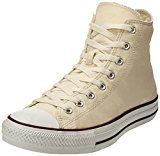 Converse All Star Hi Canvas, Sneaker Unisex – Adulto, Avorio (Ivory), 37.5