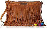 Les Tropéziennes Cop03 - Borse a tracolla Donna, Marron (Brown), 6x20x31 cm (W x H L)