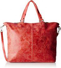 Chicca Borse 80055, Borsa a Tracolla Donna, Rosso, 47 x 34 x 15 cm (W x H x L)