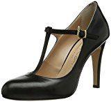 Evita ShoesPumps geschlossen - Scarpe con Tacco Donna, Nero (Schwarz (Schwarz), 41 donna