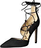 Sam EdelmanHelaine - Scarpe con Tacco Donna , Oro (Gold (BLACK KID SUEDE)), 40|#Women