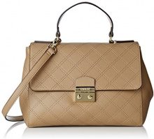 Guess HWARIAP7319, Borsa a Tracolla Donna, Beige (Taupe), 14x21x31 cm (W x H x L)