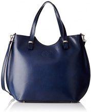 Chicca Borse 80046, Borsa a Tracolla Donna, Blu, 40 x 33 x 14 cm (W x H x L)