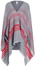 J.CREW ERICA HORIZONTAL Mantella heather gray/red