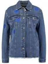 Lost Ink Giacca di jeans indigo blue