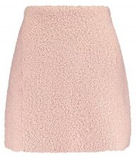 Lost Ink FURRY  Minigonna light pink