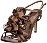 Unbekannt - Scarpe col tacco Jlr061 Donna, Marrone (Braun (Bronze)), 36
