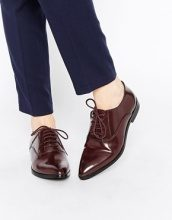 Park Lane - Scarpe piatte e stringate in pelle a punta