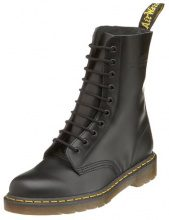 Dr. Martens 1490, Stivali unisex adulto, Nero (Black Smooth), 40