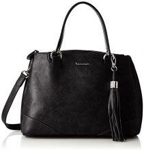 Tamaris Melanie Handbag - Borsa Donna, Schwarz (Black), 13.5x25x32 cm (B x H T)