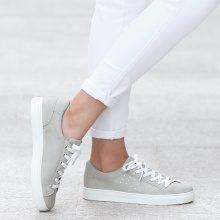 Sneakers con dettagli strass
