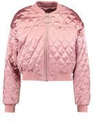 Missguided BARBIE QUILTED RING PULL Giubbotto Bomber pink