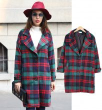 Cappotto a quadri
