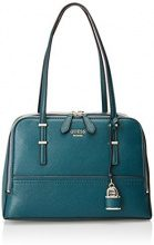 Guess Hwvg6421090, Borsa a Mano Donna, Verde (Forest), 13x22.5x36 cm (W x H x L)