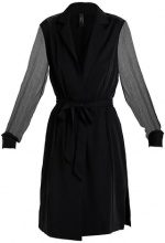 YAS YASHENNA LONG SOFT Cappotto corto black