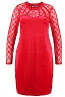 Zizzi Vestito elegante tango red