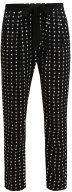 Gaudi Pantaloni black/white