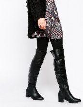 Truffle Collection - Luan - Stivali sopra il ginocchio con punta quadrata