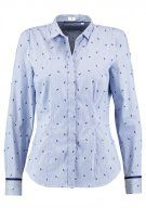 Seidensticker Camicia white/blue