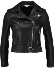Miss Selfridge Petite NEW BIKER Giacca in similpelle black