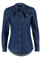 VMLILLY - Camicia - dark blue denim