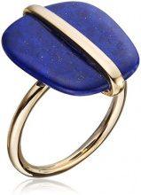 Lola Rose Jewellery Anello Donna placcato_oro lapislazzuli ovale