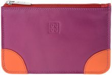 Borsa Shopping Dudu  Bustina portatutto donna in vera pelle colorata con zip e 3 tasc