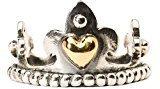Trollbeads Ring - Anello, argento, misura 57 (18.1)