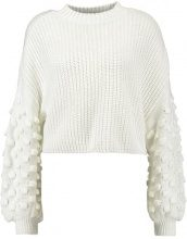 Miss Selfridge BOBBLE SLEEVE  Maglione beige