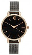 New Look GUN STRAP Orologio rosegoldcoloured/black
