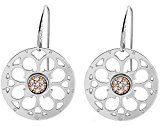 Nomina donne-orecchini PARADISO rosa in acciaio inox Zirconia Bianco - 025539/001